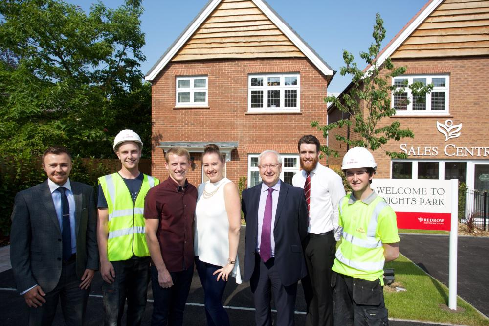 First time buyers stay up all night to secure first Redrow home of Liverpool housing partnership