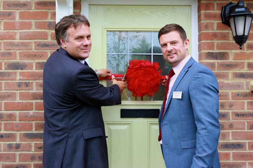 MP returns to open Redrow's new show homes in York