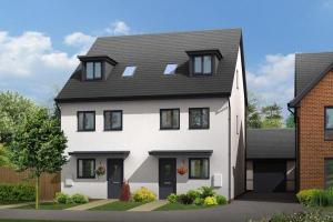 Building work begins on 100-home development in Hereford