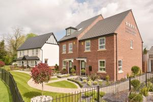Homebuilder Unveils Three Show Homes at Littleover Development